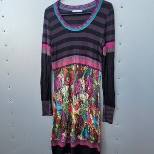 Anthropology Aldomartins Wool Blend Dress Sz 8
